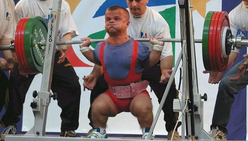 World strongest midget